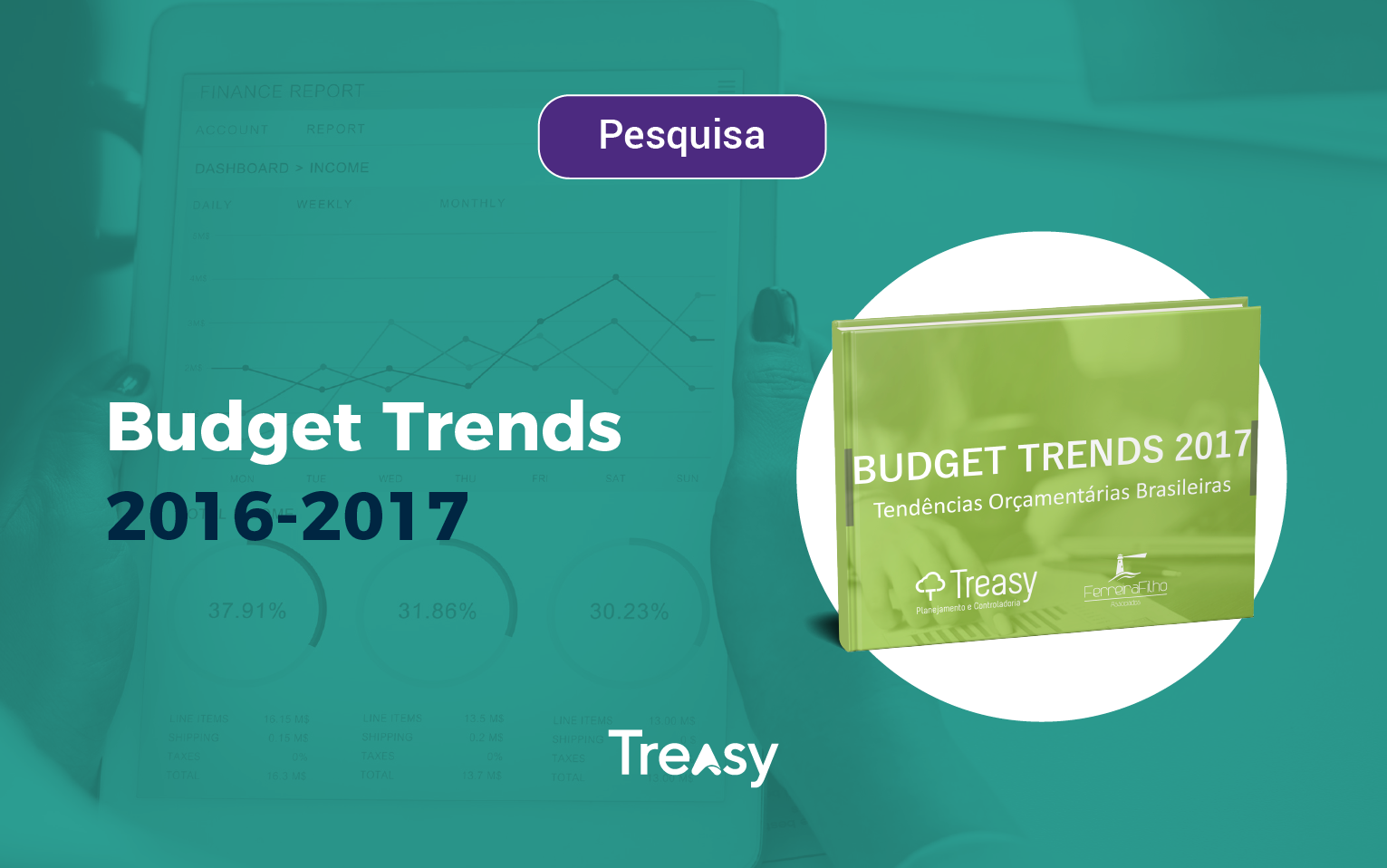 Pesquisa Budget Trends 2016 - 2017